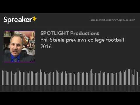 Phil Steele previews college football 2016