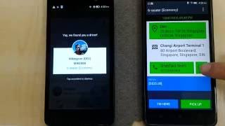 GrabChat Step by Step Demo for GRABCAR Driver