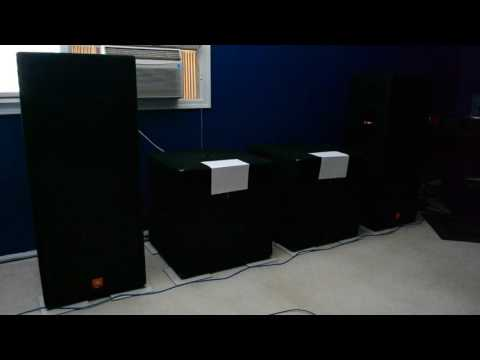 JBL JRX125'S WITH SUBS AIRFLOW TEST