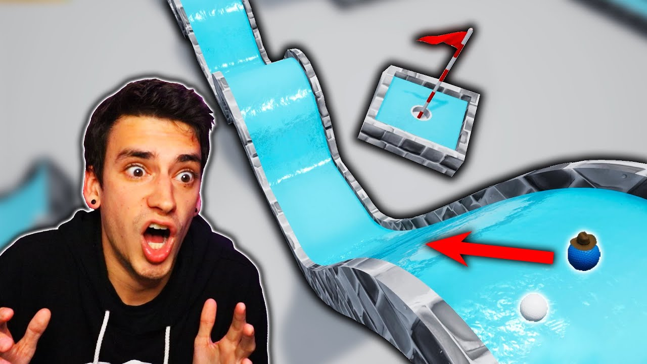 EXTREME PUTT-PUTT ICE COURSE?! (Golf It)