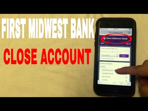 ✅  4 Ways To Close First Midwest Bank Account 🔴