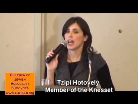 The Challenges of an Unapologetic Zionist: An Insider's Briefing with MK Tzipi Hotovely