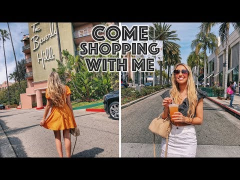 COME LUXURY SHOPPING WITH ME IN LA, RODEO DRIVE, BEVERLY HILLS VLOG | Scarlett London