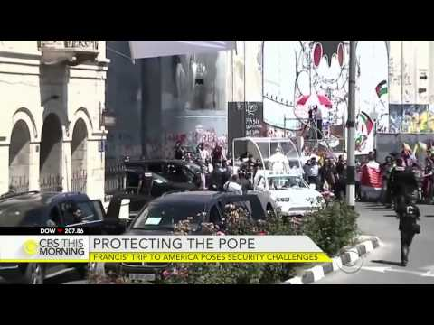 Pope Francis' trip to America poses security challenges