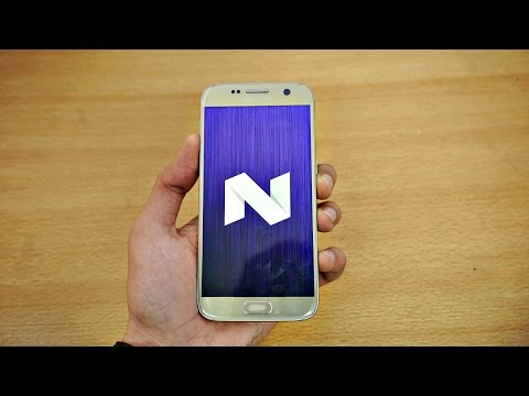 Samsung Galaxy S7 OFFICIAL Android 7.0 Nougat Firmware Review! (4K)