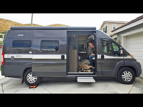 Solar Powered Conversion Van Tour | EP 20 Camper Van Life