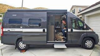 Van Tour of Our Tiny Home on Wheels Hymer Aktiv 2.0 | Camper Van Life