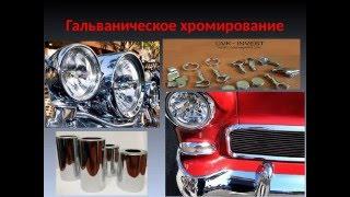 Гальваническое  хромирование деталей автомобиля и мотоцикла(http://antarespto.com/каталог/Hromirovanie_detalej_avtomobilej/, 2016-05-05T11:39:21.000Z)
