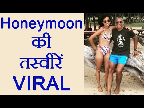 Milind Soman goes ROMANTIC with Ankita Konwar's at Honeymoon। FilmiBeat