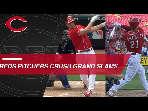 Reds pitchers Desclafani, Lorenzen hit grand slams
