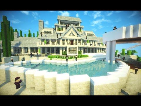 Minecraft mans o autom tica moderna de redstone con for Casa moderna minecraft 0 10 4