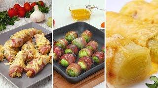Овощи в беконе Рецепты от Со Вкусом