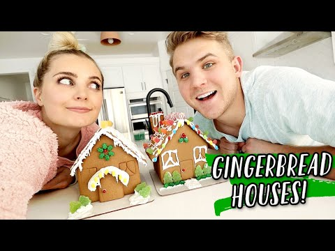 GINGERBREAD HOUSE COMPETITION!!