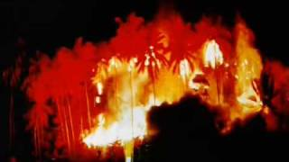 apocalypse now end credits explosions