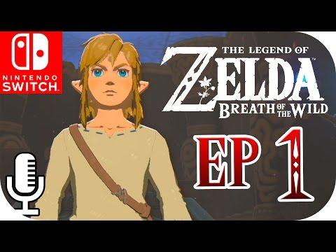[SWITCH] ¡El DESPERTAR de LINK! | 🌲 ZELDA: Breath Of The Wild 🌲 | Ep. 1 con --ALEX--