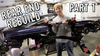 240SX Rear End Rebuild Part 1: Disassembly and Subframe Overhaul!