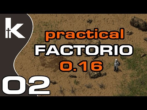 Practical Factorio 0.16 Episode 2 | Temporary Permanent Smelting Setup | Factorio 0.16 Let's Play