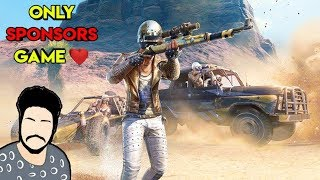 Pubg Mobile Live | Only Sponsors Game | Roasting Guru