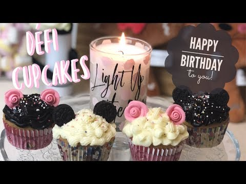 JOYEUX ANNIVERSAIRE MICKEY ! (Recette Cupcakes Disney)