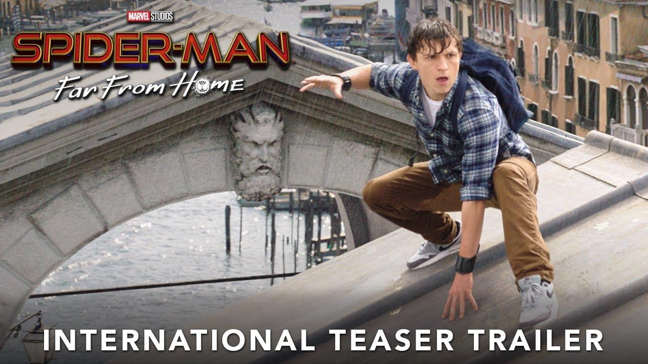 SPIDER-MAN: FAR FROM HOME – International Teaser Trailer 3