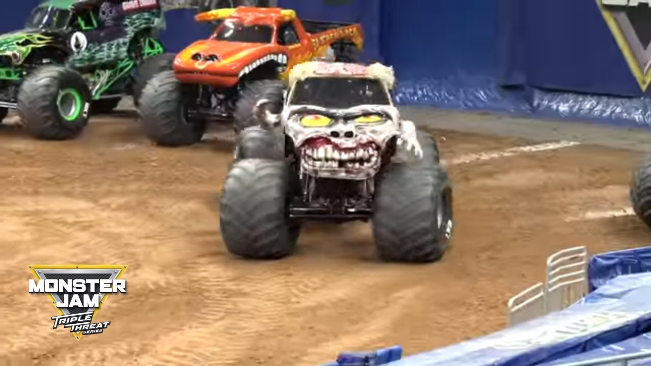 Zombie Monster Truck Freestyle From Saturday Night In Orlando