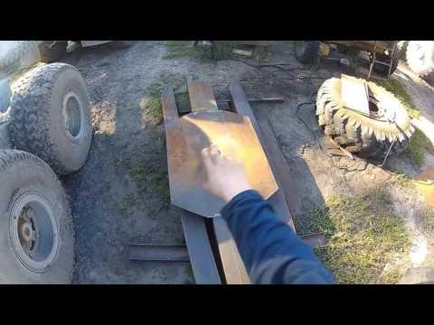 Как сделать поворотный коник на Урал лесовоз Электросварка