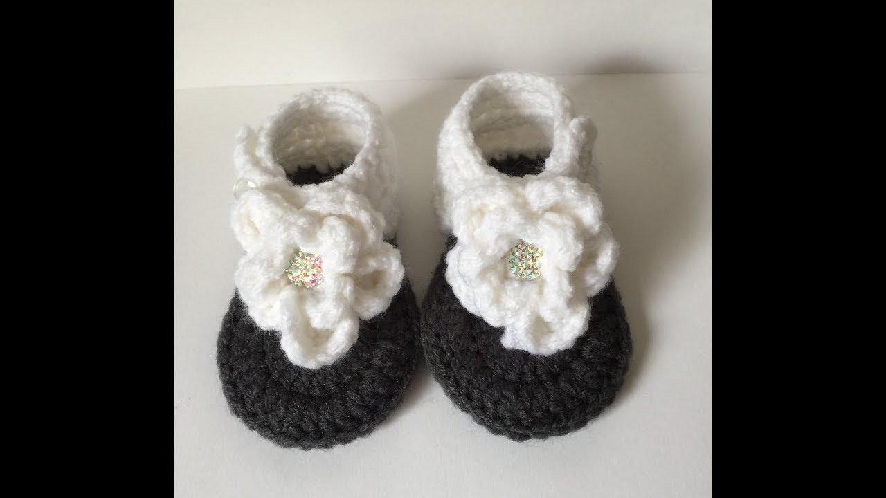 115f835d38c1 0-3 Month Flower Sandals