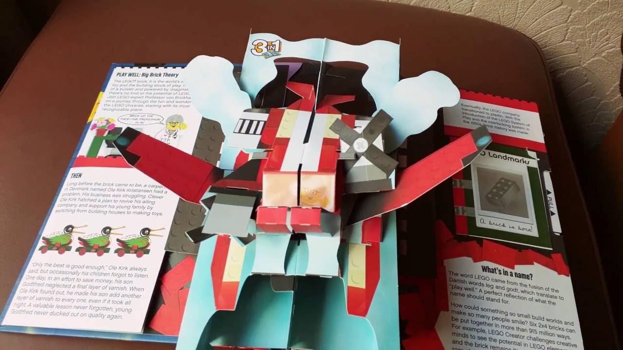LEGO Pop-Up Book Tour - YouTube