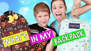 What's In My Backpack? Back To School Supplies Haul 2018 📚👍😍
