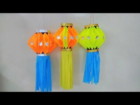 LANTERN , LAMP FOR DIWALI AND  MANY MORE FESTIVALS, EASY TO MAKE AND BEAUTIFUL  ...