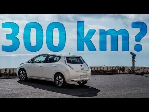 Nissan Leaf 30kWh + LeafBox Range Test