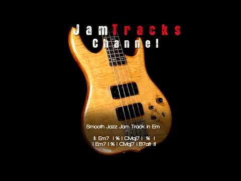 Smooth Jazz/Funk Bass Backing Track - JamTracksChannel -