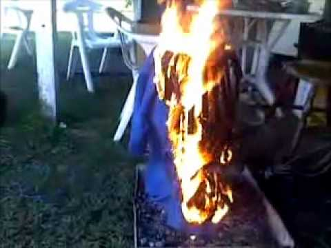 Coles Uniform Cleansed by fire