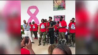 Jay Z attends the Trayvon Martin Peace Walk in Miami