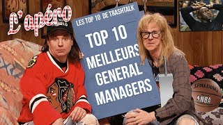 Top 10 meilleurs General Managers all-time