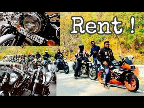 BIKES AVAILABLE ON RENT IN DELHI ! | #51NGHVlogs