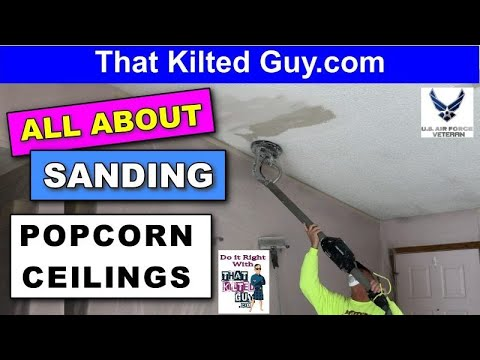 popcorn-ceiling-removal-by-sanding,-doesn't-always-work!