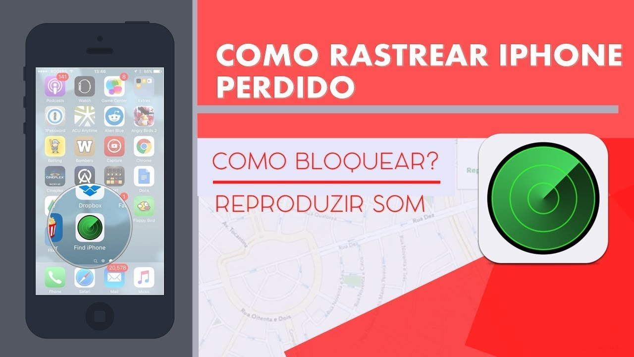 como rastrear android no iphone