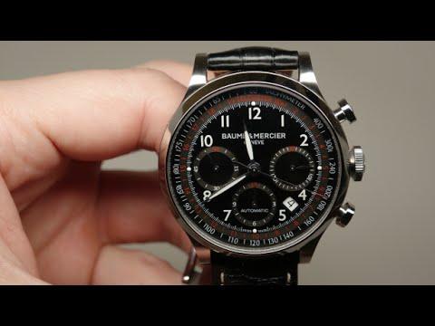 Baume and Mercier Capeland Chronograph Men's Watch Review Model: 10042