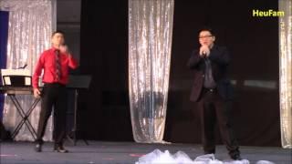 Sacramento Hmong New Year 2016 - 2017:Singing  Round 2 Duet - Max Thoj and Tshuab Vaj