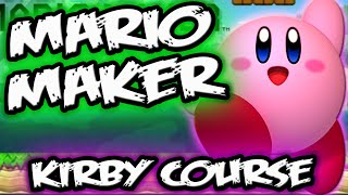 MARIO MAKER GAMEPLAY || KIRBY Course World Level || Mario Maker Levels Course World Part 1