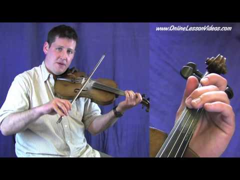 SAILORS HORNPIPE - Bluegrass Fiddle Lesson by Ian Walsh