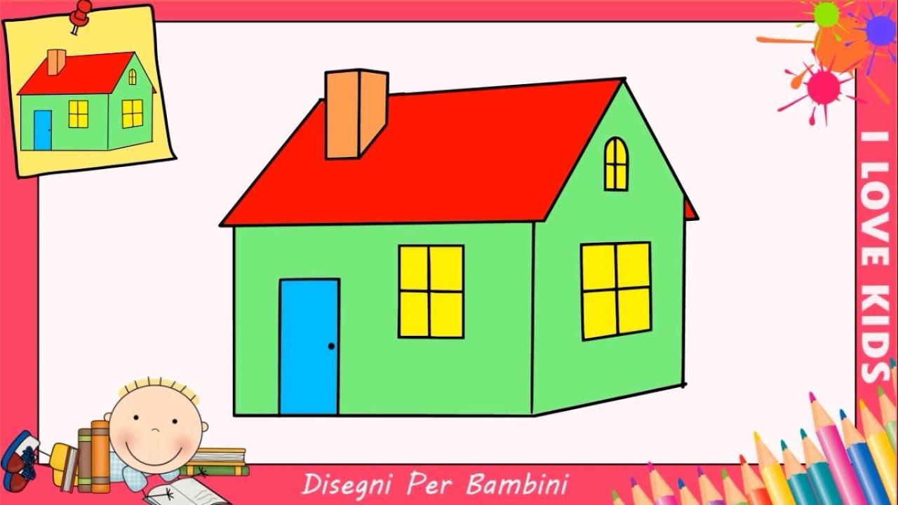 Disegni di case facili aggiornare come disegnare una for Disegnare una piantina di casa