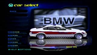 Need For Speed High Stakes (PS1) - Car Showcase: All Cop Cars
