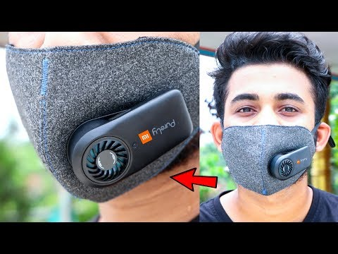 XIAOMI Mi PURELY AIR MASK REVIEW | Anti Pollution Air Mask You Can Buy in Online Store