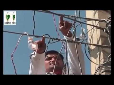 Electric man in Pakistan Must Watch