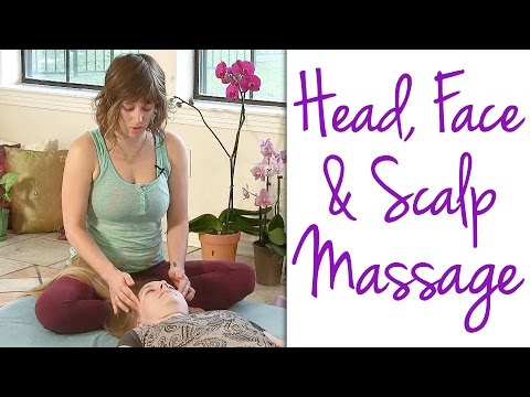 Relaxing Massage Therapy Techniques for Head, Scalp & Face, How to, Thai Massage