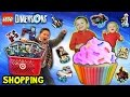 FGTEEV Shopping: LEGO DIMENSIONS and CUPCAKES!  Target Stores Probably Hate Us + New Game Room Tour