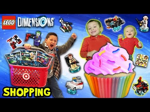 Thumbnail: FGTEEV Shopping: LEGO DIMENSIONS and CUPCAKES! Target Stores Probably Hate Us + New Game Room Tour