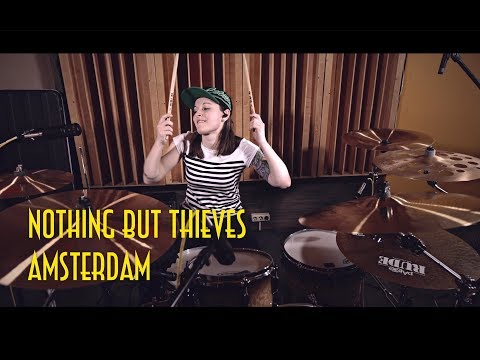 Nothing But Thieves - Amsterdam (drum cover by Vicky Fates)